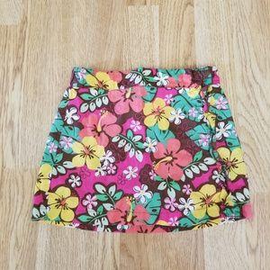 Wonder Kids Girls Floral Skort